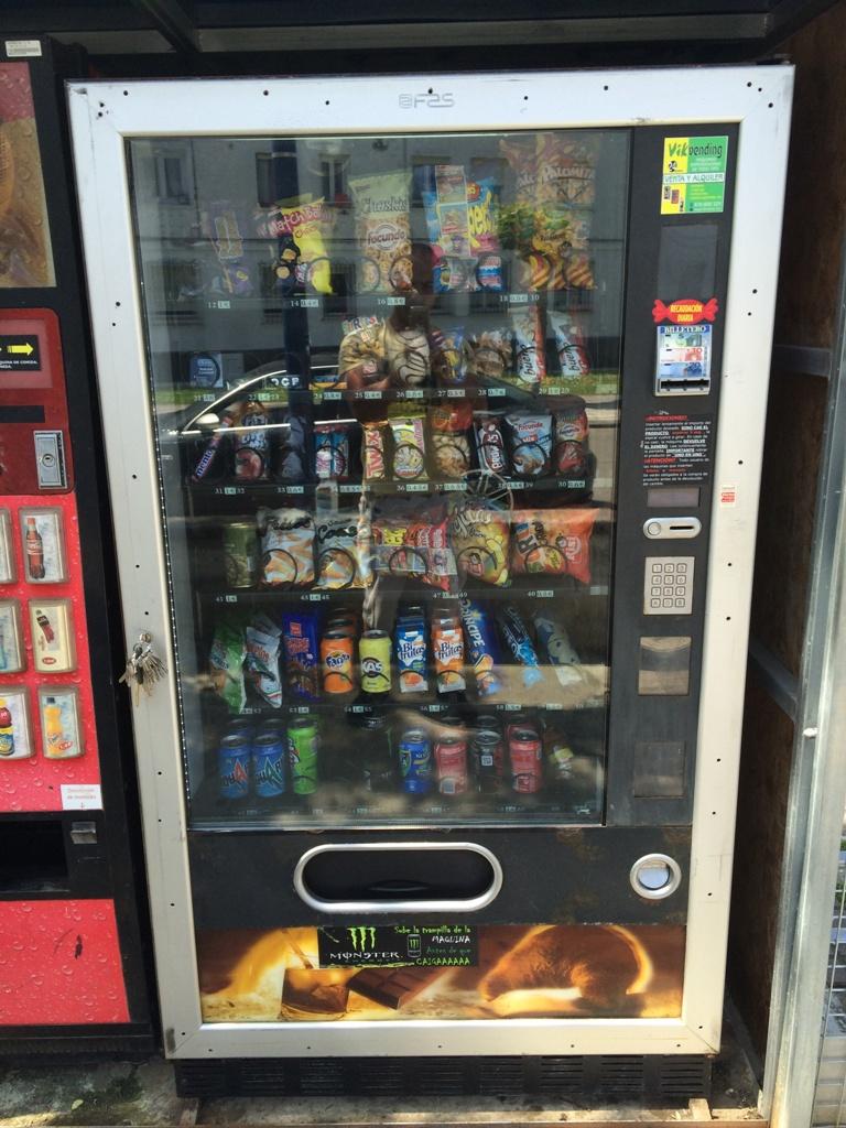 Maquina de snacks FAS 1050
