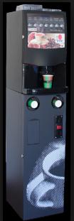 Máquinas de vending de café saludable