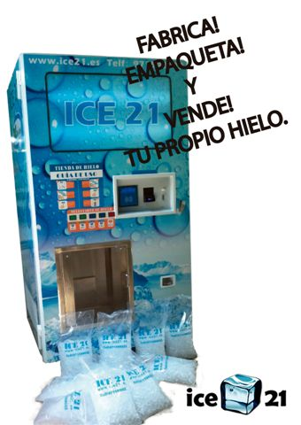 maquinas expendedores de hielo