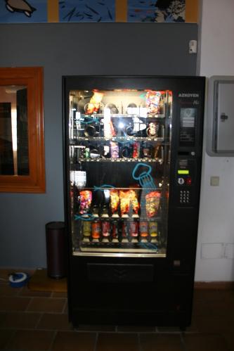 Maquina snacks AZKOYEN PALMA HZ
