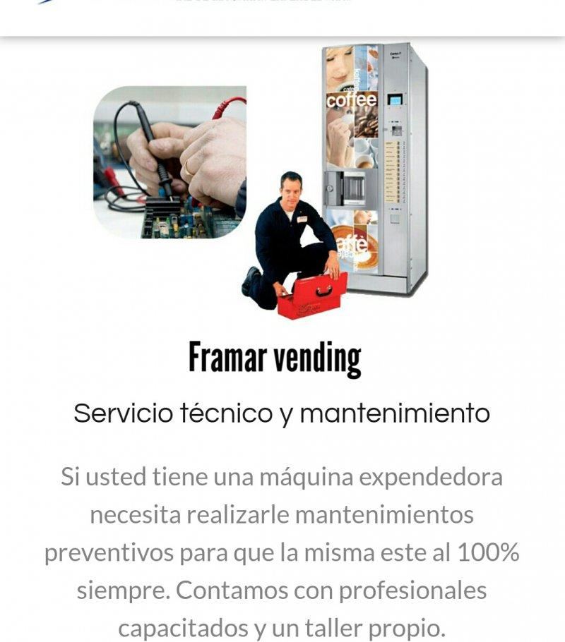 Repuestos  Recambio maquinas vending