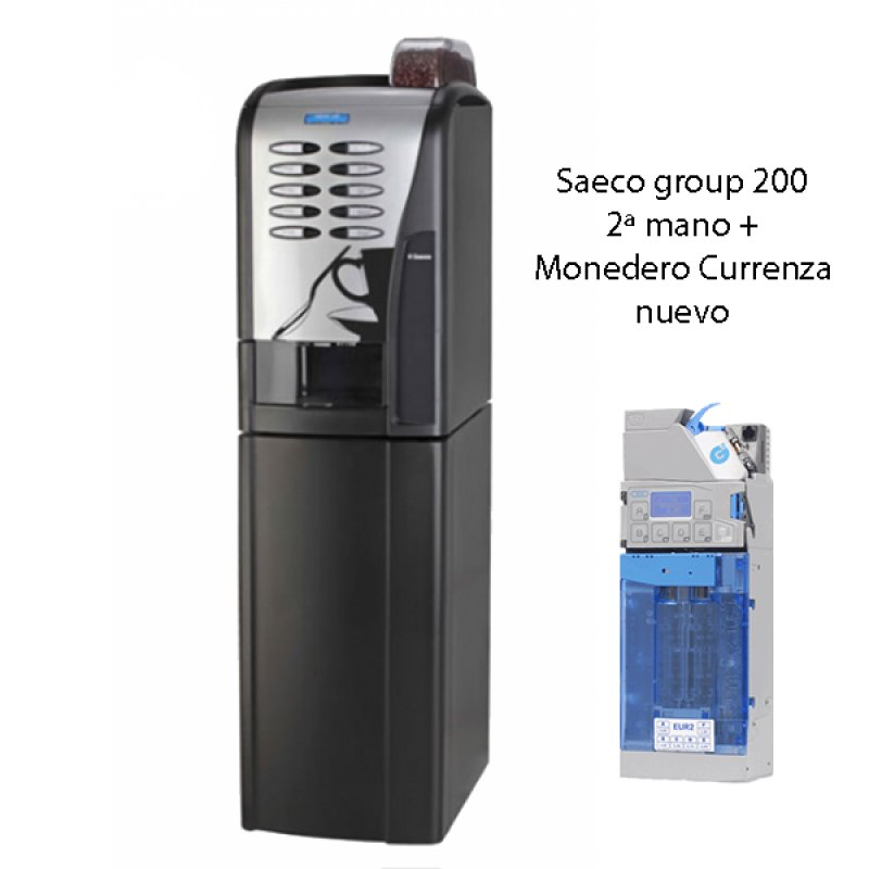 Saeco Group 200. Maquina vending 2ª mano.