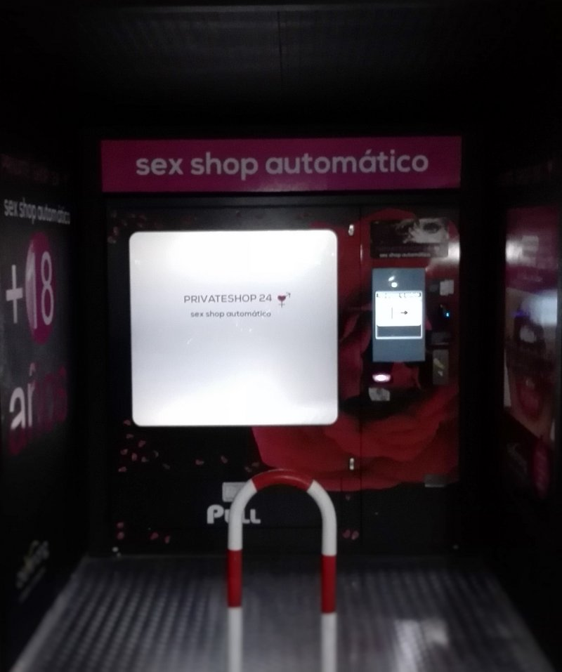 Sex Shop Vending - Venta