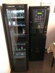 2 Máquinas Vending mixtas café y Snacks Negocio
