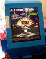 Alcolímetro a monedas
