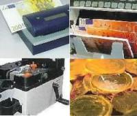 Detector de billetes falsos y contadoras