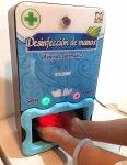 Dispensadora de hidrogel automática sin contacto