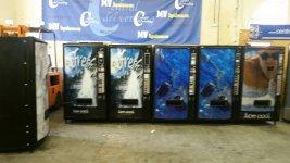maquinas vending palma B9 de azkoyen de aguas 1.5L