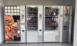 Ganga, 4 maquinas vending 4 meses de uso