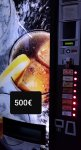 maquina de refrescos y agua 0,50
