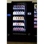 Maquina expendedora venidng de bebidas frías