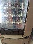 maquina vending azkoyen palma H70