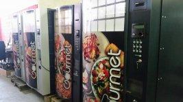 maquina vending comida caliente