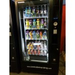 Maquina vending de bebidas robótica con monedero ref.0753