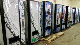 Maquina vending de refrescos