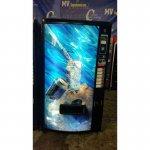 Maquina vending latas aguas azkoyen palma b6
