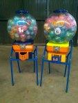 Maquinas de chicles y de bolas