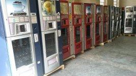 maquinas expendedoras vending de snack, bebidas , cafe, pelotas de padel......