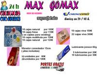 Preservativos, lubricantes, juguetes xxx, peliculas, vigorizantes. camillas de masajes