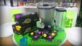 OFERTA Fuente de agua + regalo: Cafetera cápsulas & pack cápsulas