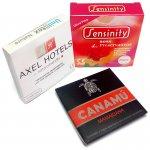 Preservativos personalizados en estuche