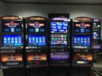 Slot machine cabinets