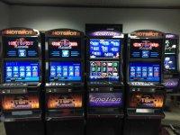 Slot machine cabinets