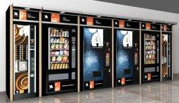 Vendo explotacion  de 29 maquinas de Vending(Cafe,Snacks y Refrescos)