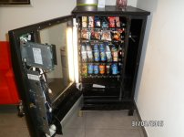 Vendo máquina de Snack: Baby Fas