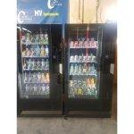 Lote 2 maquinas expendedora vending de bebida frías